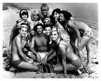 Beach Blanket Bingo - 8 x 10 B&W Photo #6