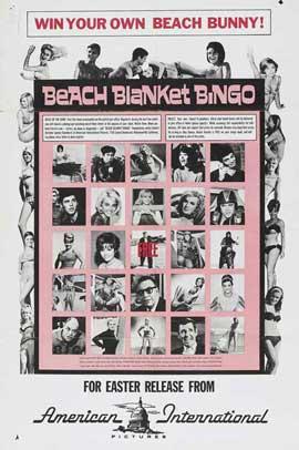 Beach Blanket Bingo - 11 x 17 Movie Poster - Style B