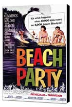 Beach Party - 11 x 17 Movie Poster - Style A - Museum Wrapped Canvas