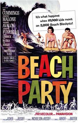 Beach Party - 11 x 17 Movie Poster - Style A