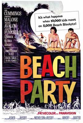Beach Party - 27 x 40 Movie Poster - Style A