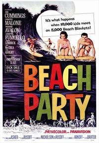 Beach Party - 43 x 62 Movie Poster - Bus Shelter Style A