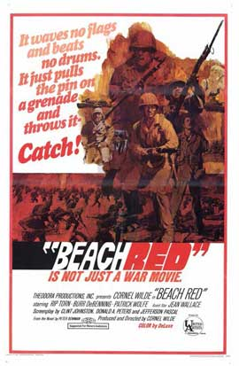 Beach Red - 11 x 17 Movie Poster - Style A