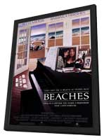 Beaches - 11 x 17 Movie Poster - Style A - in Deluxe Wood Frame