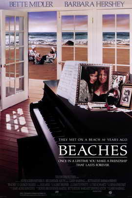 Beaches - 11 x 17 Movie Poster - Style A