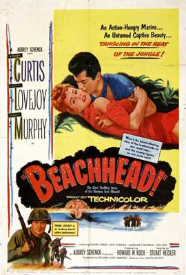 Beachhead - 11 x 17 Movie Poster - Belgian Style A