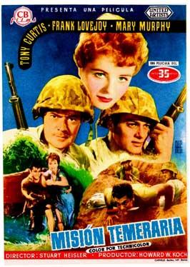 Beachhead - 11 x 17 Movie Poster - Spanish Style A
