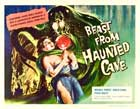 Beast from Haunted Cave - 22 x 28 Movie Poster - Half Sheet Style A