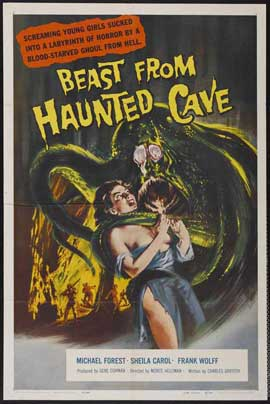 Beast from Haunted Cave - 27 x 40 Movie Poster - Style A
