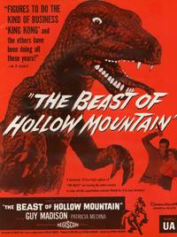 Beast of Hollow Mountain - 11 x 17 Movie Poster - Style B