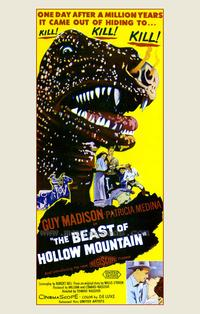 Beast of Hollow Mountain - 27 x 40 Movie Poster - Style A