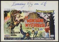 Beast of Hollow Mountain - 11 x 17 Movie Poster - French Style A
