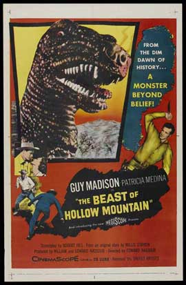 Beast of Hollow Mountain - 27 x 40 Movie Poster - Style C