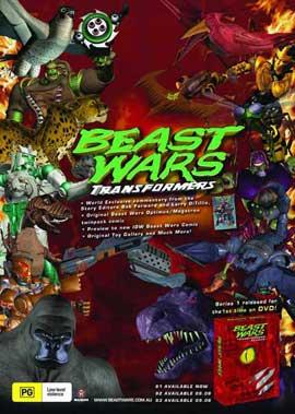 Beast Wars: Transformers - 11 x 17 Movie Poster - Australian Style A