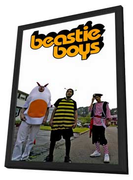 Beastie Boys - 11 x 17 Music Poster - Style A - in Deluxe Wood Frame