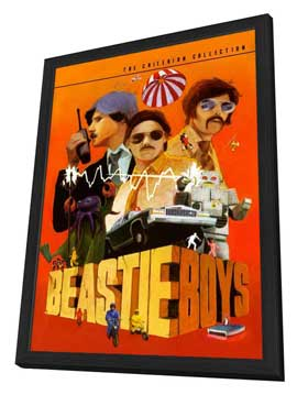 Beastie Boys: Video Anthology - 11 x 17 Movie Poster - Style A - in Deluxe Wood Frame