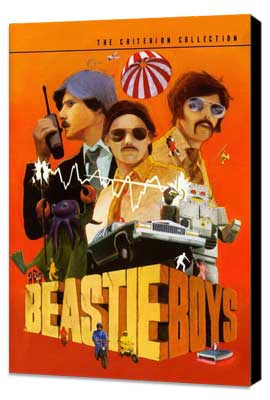 Beastie Boys: Video Anthology - 11 x 17 Movie Poster - Style A - Museum Wrapped Canvas