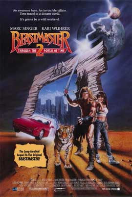 Beastmaster 2: Through the Portal of Time - 11 x 17 Movie Poster - Style A