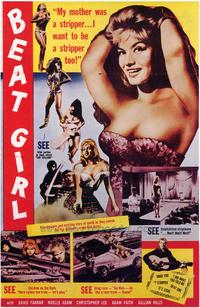 Beat Girl - 43 x 62 Movie Poster - Bus Shelter Style A