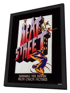 Beat Street - 11 x 17 Movie Poster - Style B - in Deluxe Wood Frame