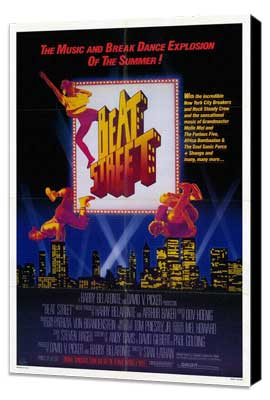 Beat Street - 27 x 40 Movie Poster - Style A - Museum Wrapped Canvas