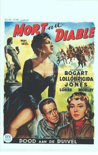 Beat the Devil - 11 x 17 Movie Poster - Belgian Style A