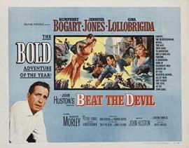 Beat the Devil - 22 x 28 Movie Poster - Half Sheet Style B