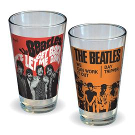 Beatles - Get Back and We Can Work It Out Pint Glass 2-Pack