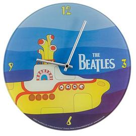 Beatles - The Yellow Submarine Glass Wall Clock
