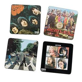Beatles - The Album Cover Coaster 4-Pack