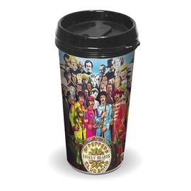 Beatles - Sgt. Peppers Lonely Hearts Club Band Travel Mug