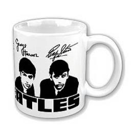 Beatles - Fab Four Portraits and Signatures Mug