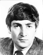 Beatles - Beatles John Lennon Close Up Portrait