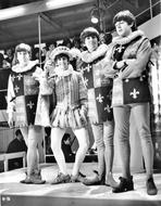 Beatles - Beatles Group Picture in Musketeer Outfit
