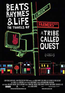 Beats Rhymes & Life: The Travels of a Tribe Called Quest - 43 x 62 Movie Poster - Bus Shelter Style A