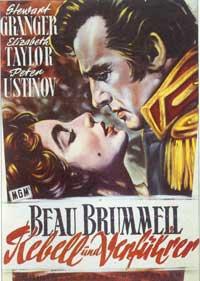 Beau Brummel - 11 x 17 Movie Poster - German Style A