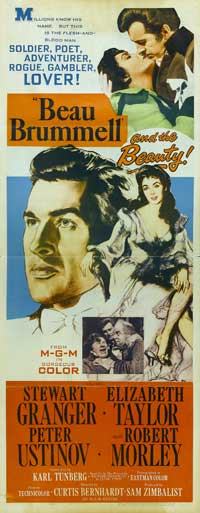 Beau Brummel - 14 x 36 Movie Poster - Insert Style A