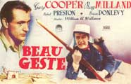 Beau Geste - 11 x 17 Movie Poster - Spanish Style B