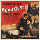Beau Geste - 30 x 30 Movie Poster - Style A