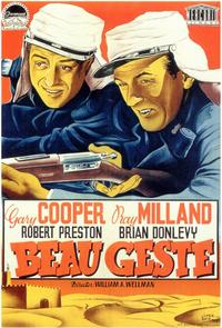 Beau Geste - 11 x 17 Movie Poster - Spanish Style A