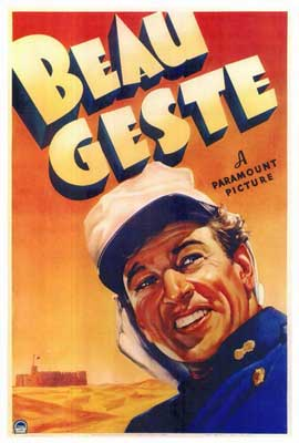 Beau Geste - 27 x 40 Movie Poster - Style A