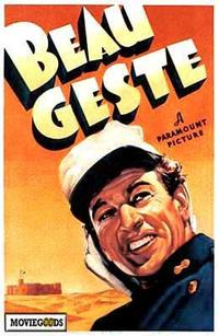 Beau Geste - 43 x 62 Movie Poster - Bus Shelter Style A