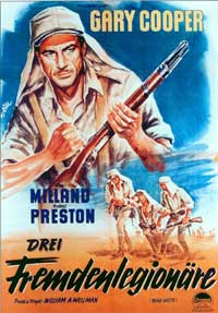 Beau Geste - 11 x 17 Movie Poster - German Style A