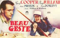 Beau Geste - 27 x 40 Movie Poster - Spanish Style A