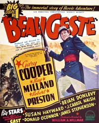 Beau Geste - 40 x 40 - Movie Poster - Style A