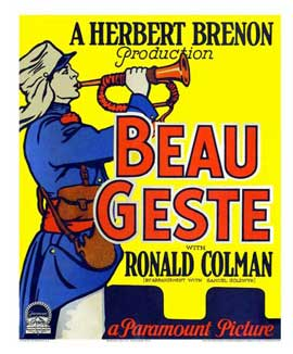 Beau Geste - 27 x 40 Movie Poster - Style B