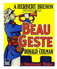 Beau Geste - 43 x 62 Movie Poster - Bus Shelter Style B