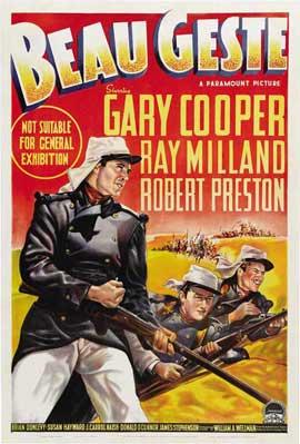 Beau Geste - 27 x 40 Movie Poster - Australian Style A