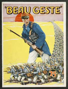 Beau Geste - 11 x 17 Movie Poster - Style D
