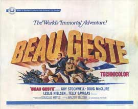 Beau Geste - 11 x 14 Movie Poster - Style A